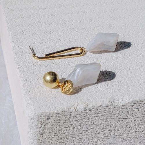 EH63368-E146仿石头彩色耳环