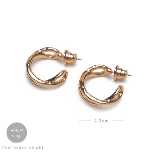 EH30320-C16半圈交叉耳环