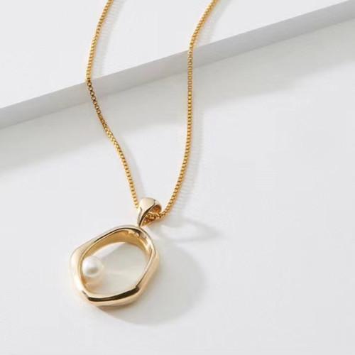 XL26538-3X3镂空小珍珠项链