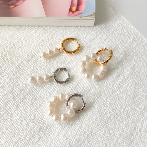 EH30457-3-7不对称珍珠耳环