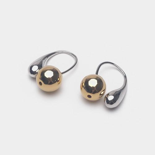 EH63109-E148极简个性豆豆耳环