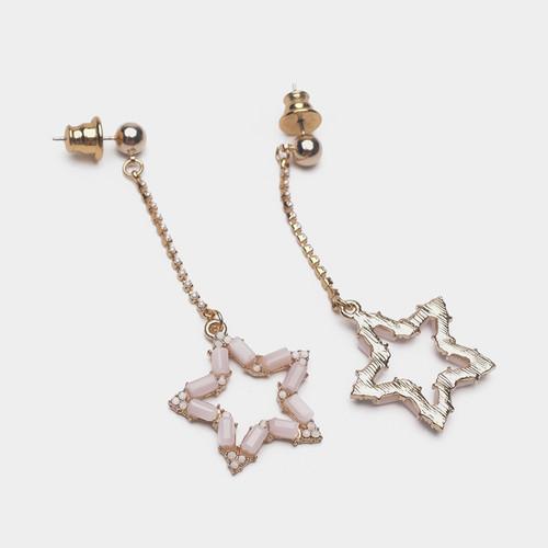 EH63372-E147星星彩钻耳环
