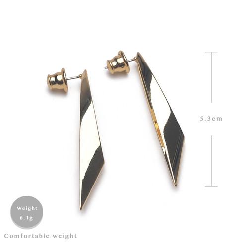 EH63480-E147菱形镂空水滴耳环