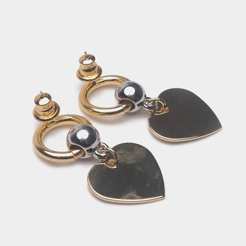 EH63579-E146简约爱心耳环