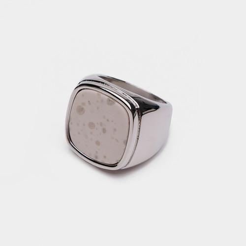JZ63239-G194天然石小方块戒指