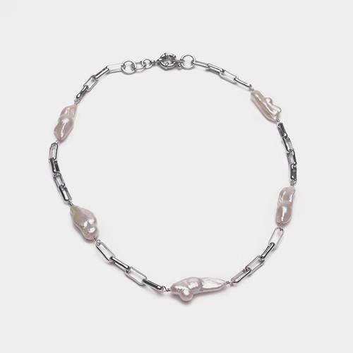 XL26421-Y下1天然珍珠巴洛克项链