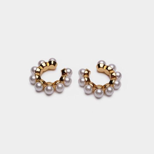 EH32005-C5珍珠耳圈耳夹