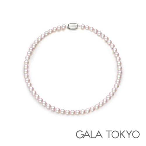 Akoya 和珠串链 7.0-7.5mm 银扣