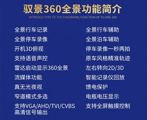 驭景360度全景行车记录仪全新二代夜视王