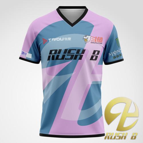 RushB 2020 电竞选手比赛T恤