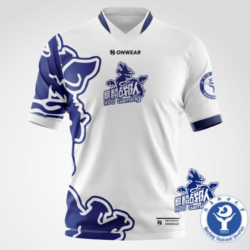 NVU - 南职大电竞校队比赛T恤