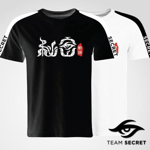 秘密中文印花中国款短袖T恤