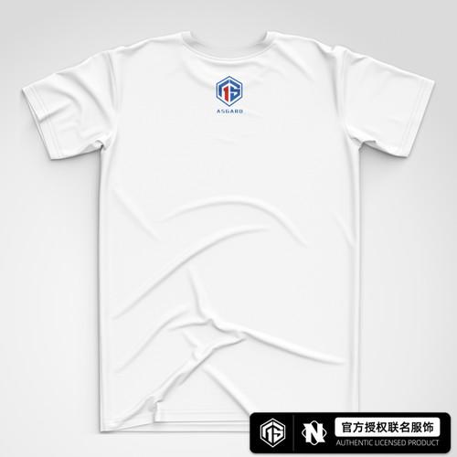 AS仙阁 基础款潮流短袖T恤