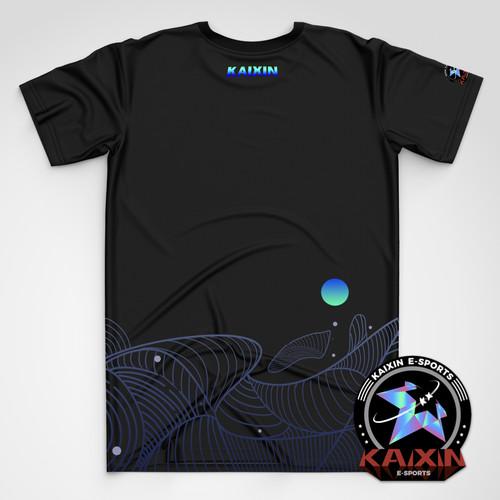 KAIXIN云纹创意潮流T恤