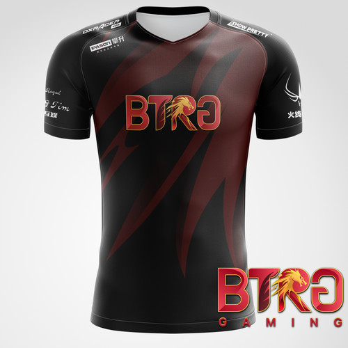 BTRG 2020 电竞选手比赛T恤