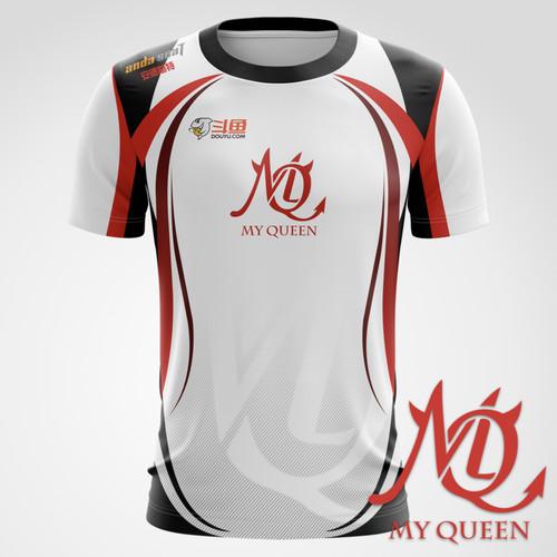 MQ 2020 电竞选手比赛T恤