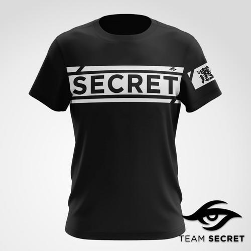Team Secret 【秘密選手】 潮流短袖T恤