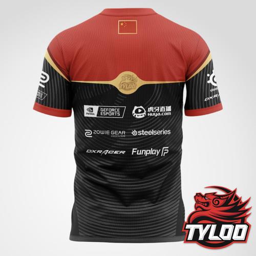 TYLOO 经典款电竞选手比赛T恤