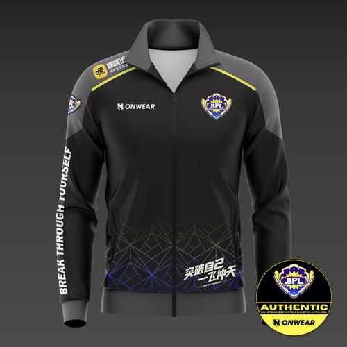 BPL联盟电竞训练外套