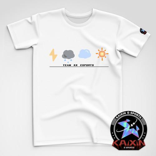 KAIXIN开云见日创意T恤