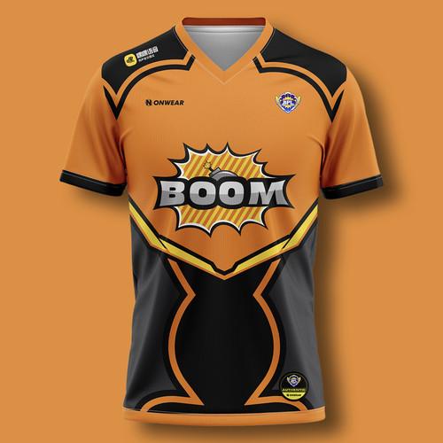ONWEAR X BPL 战队Boom选手比赛T恤