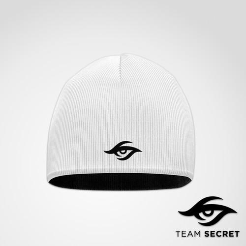 Team Secret秘密战队正反两用绒线帽