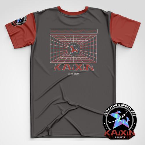 【第二轮】KAIXIN霓虹空间系列周边短袖T恤