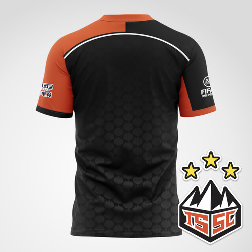 山东泰山SC电竞选手比赛T恤
