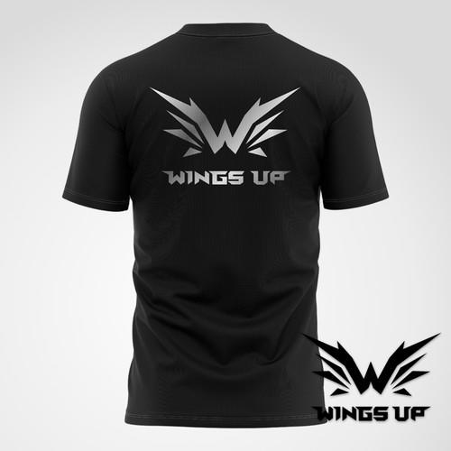 Wings Up 电竞选手比赛T恤