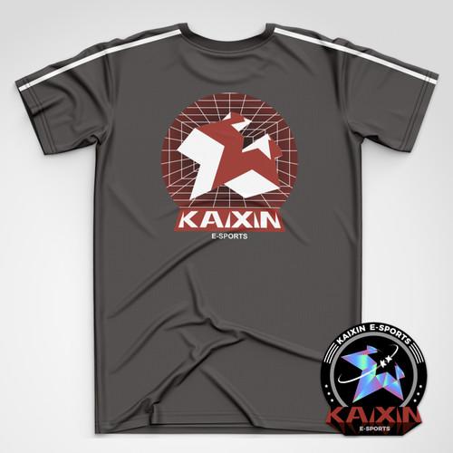 KAIXIN霓虹空间系列周边短袖T恤