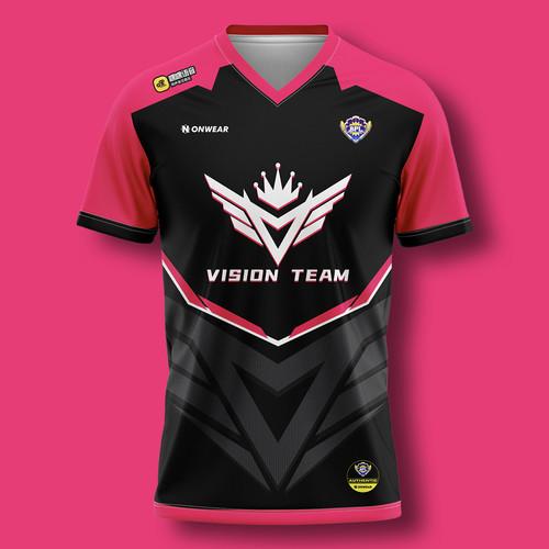 ONWEAR X BPL 战队VT选手比赛T恤