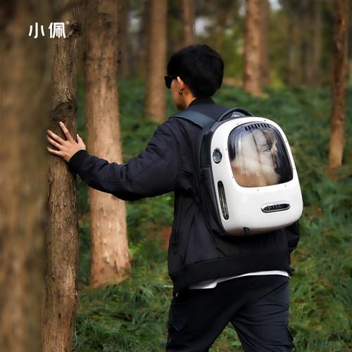 【小佩智能新风猫包】(16斤内宠物适用)