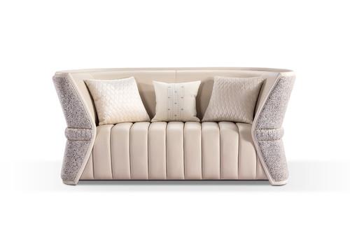 轻奢二位沙发  标配2个抱枕