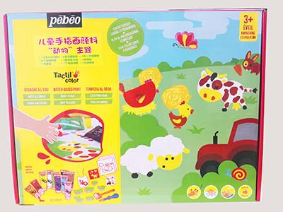 Pebeo Finger Paint Farm Aged 3+