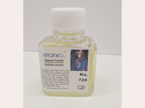 Marie's Dammar Varnish for color
