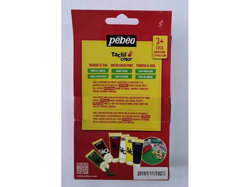 Pebeo set of 6 finger paint sets 3+
