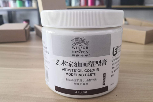 Winsor Newton Oil Paint Modeling Paste 473ml