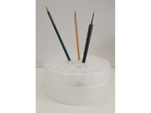 Watercolor/Gouache water pot and Brush Stand