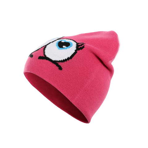 Children's cartoon wool hats