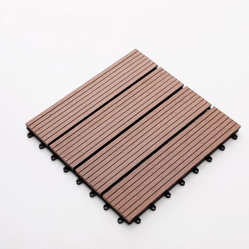 塑木拼接小地板
