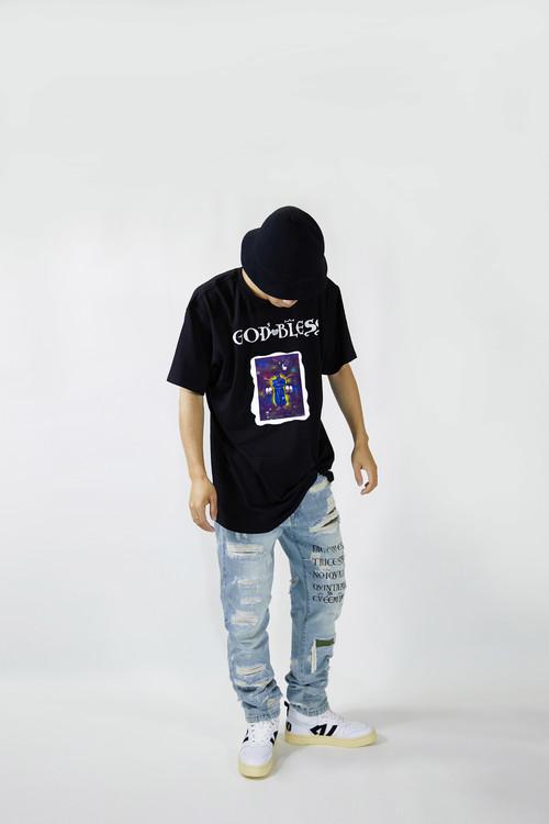 INNERALCHEMY GODBLESS 短袖 黑色(预售中,发售恢复原价)