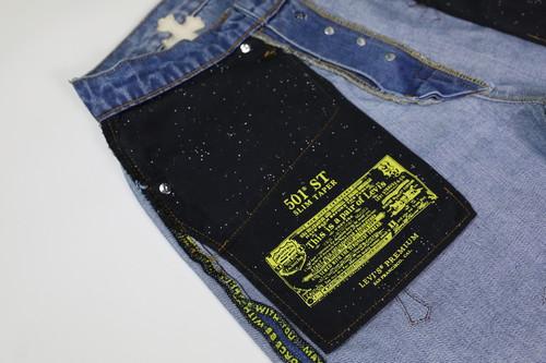 inneralchemy remake ChromeHearts 李维斯501 牛仔裤DIY