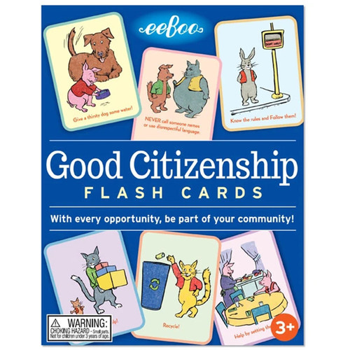 eeBoo情商启蒙系列玩具情绪行为公民意识引导纸卡片儿童益智桌游